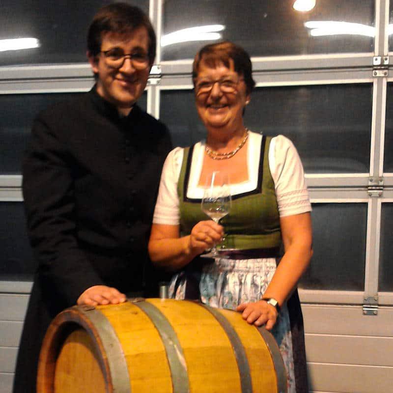 Der neue Wein von Franz Sauerstingl ist getauft